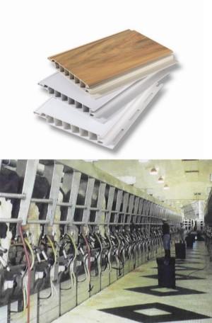 P-1000 Zero Maintenance Flat Plastic Wall and Ceiling Panels