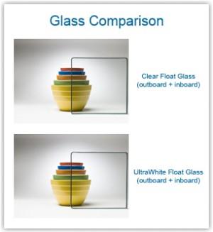 UltraWhite Low-Iron Glass