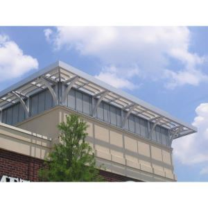Architectural Shade Products - Extruded Aluminum Walkway Canopies  sc 1 st  Sweets Construction & prefabricated canopy Manufacturers and Suppliers -- prefabricated ...