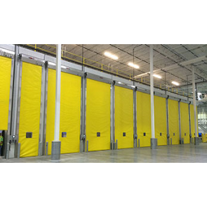 Ripening Rooms Overhead Rapid Coiling Fabric Doors Rollseal A Division Of Hh Technologies