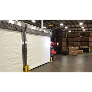 Industrial Paint And Finishing Overhead Rapid Coiling Fabric Doors Rollseal A Division Of
