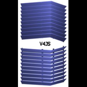 Architectural Louvers V4js Equipment Screens Equipment Screens