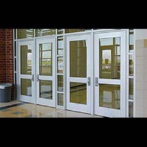 Heavy Duty Aluminum Entrance Doors & Frames - Durafront Series 800 ...