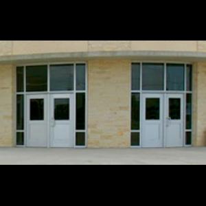 Entrances Series 1000 Flush Panel Doors U S Aluminum Sweets