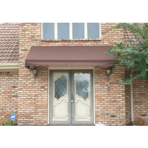 Entry window awnings residential canvas fabric for Residential window manufacturers