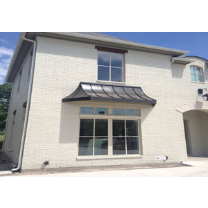 Residential metal window awnings and sunshades victory for Residential window manufacturers