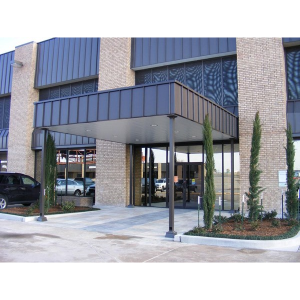 Entry Way Canopies - Commercial Metal Products - Victory ...
