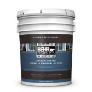Premium Plus Ultra Exterior Satin Enamel Paint Primer No 9850 Behr Process Corporation