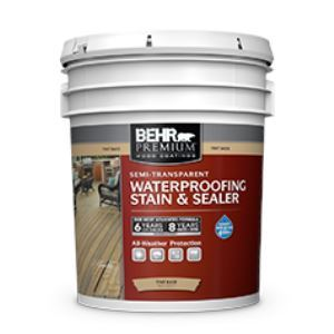 Behr Premium Semi Transparent All In One Wood Stain Sealer No 5077 Behr Process