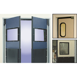 Vision panels rubbair door sweets for Door vision panel