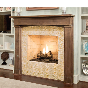 Vent free series gas only fireplace earthcore sweets for Isokern fireplace inserts