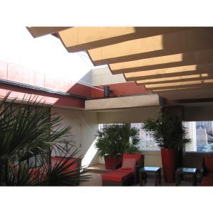 Slide On Wire Fabric Shades Retractable Structures Division Of Eide Industries Inc Sweets