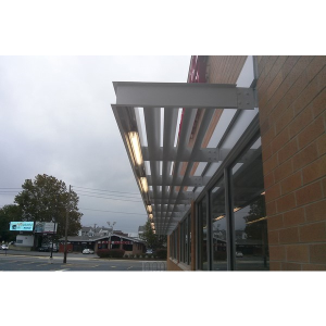 Ecoshade Building Canopies Custom Commercial Awnings MASA