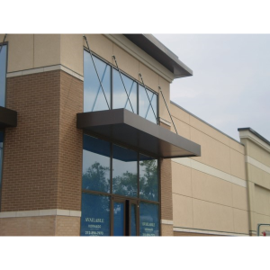Extrudeck Extruded Aluminum Canopy System Door Canopies Retail