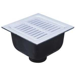 Fs55 porcelain enameled cast iron floor sink watts for Cast iron sink manufacturers