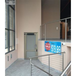 Genesis shaftway vertical platform lift garaventa lift for Www garaventalift com