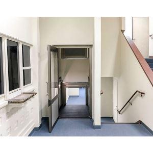 genesis shaftway vertical platform lift garaventa lift. Black Bedroom Furniture Sets. Home Design Ideas