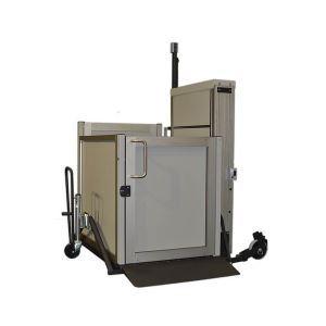 Genesis staage unenclosed vertical platform lift for Www garaventalift com