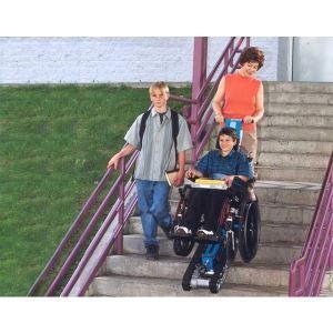 Stair trac portable wheelchair lift garaventa lift for Www garaventalift com