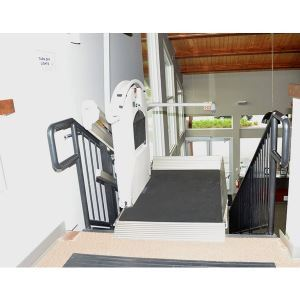 Xpress ii inclined platform lift garaventa lift sweets for Www garaventalift com