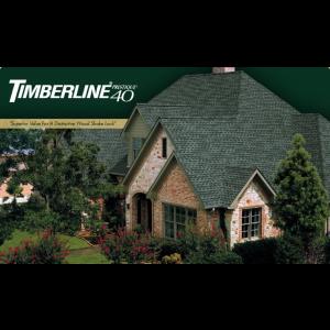 GAF   Timberline® Prestique® 40 High Definition® Asphalt Roofing Shingles