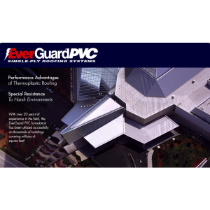 GAF   EverGuard® PVC Single Ply Roofing Systems