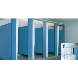 Bobrick Bathroom Partitions Property compact laminate duralineseries® 1080/1180 toilet partitions