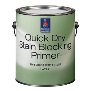 Quick Dry Interior/Exterior Stain Blocking Primer – The Sherwin ...