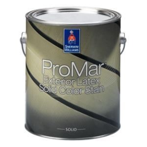 Promar exterior solid color acrylic latex stain the - Superpaint exterior acrylic latex paint ...