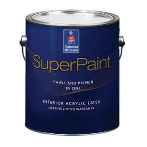 The Sherwin Williams Company   SuperPaint Interior Acrylic Latex