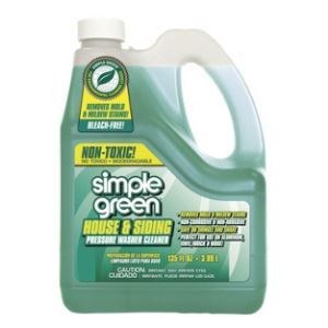 Simple Green House And Siding Cleaner Pressure Washer