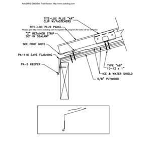 Standing seam metal roofing details cad best roof 2017 tural details roofing systems standing seam sciox Images