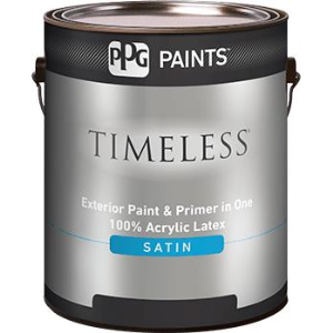 Timeless Exterior Satin Acrylic Latex Paint Ppg Paints Sweets