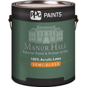 Manor Hall Exterior 100 Acrylic Latex Semi Gloss Paint Ppg Paints Sweets