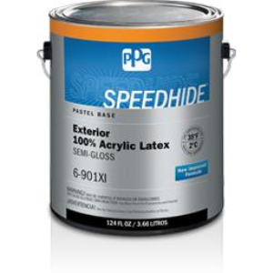 Speedhide exterior 100 acrylic latex semi gloss paint ppg paints sweets - Acrylic paint exterior plan ...