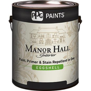 Manor Hall Interior Eggshell Acrylic Latex Paint Ppg Paints Sweets