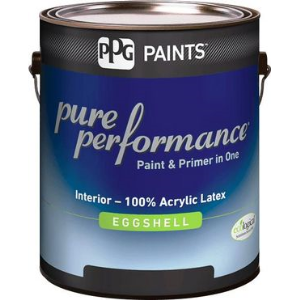 Pure Performance Interior Eggshell Latex Paint Ppg Paints Sweets