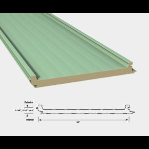 Versapanel 2 1 2 Quot 64mm Horizontal Roof Panel System