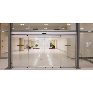 Besam sl500 cgl all glass commercial sliding entrance door for Sliding door manufacturers
