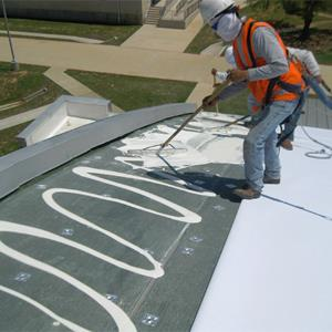 Great Duro Last Roofing, Inc.   Duro Fleece® Single Ply Roofing Membrane