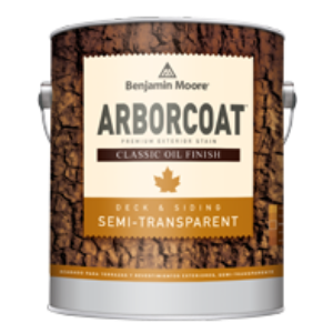Arborcoat semi transparent classic oil finish flat 328 usa benjamin moore co sweets for Benjamin moore oil based exterior primer