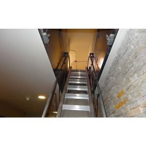Automatic Electric Disappearing Stairways Precision