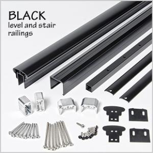 Designrail aluminum rail kits for wood posts feeney for Www feeneyinc com