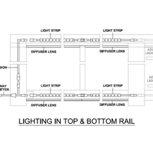 Designrail lighting kits feeney inc sweets for Www feeneyinc com