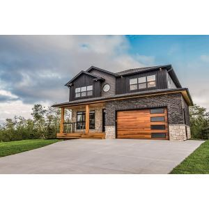 Overlay carriage house 5300 garage doors c h i overhead for Garage door wood overlay