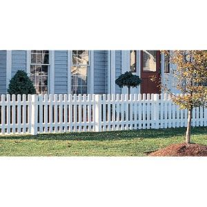 Yorkshire Picket Fence – CertainTeed Bufftech - Sweets