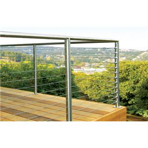 SunRail™ Nautilus - Stainless Steel Railing with Cable ...