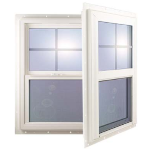 6100 series single hung vinyl window gerkin windows for Vinyl window manufacturers