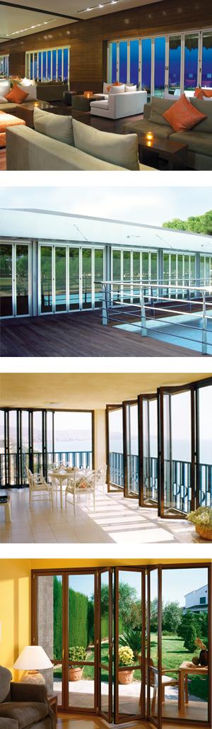 Monterey Series Bi-Folding Sliding Door System