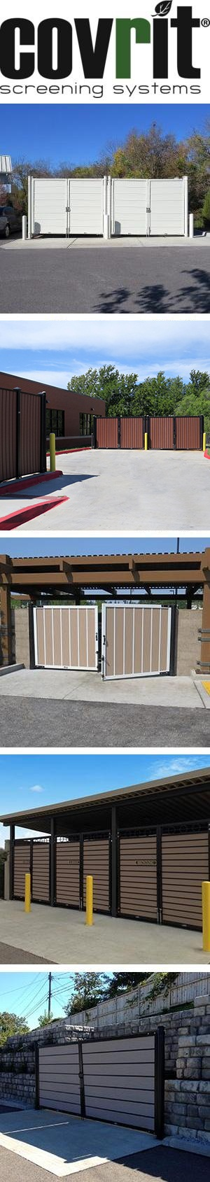 Covrit® Ground Mounted Screening System
